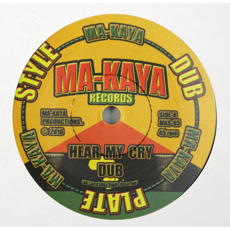 Benny Cruz Hear My Cry 7 Quot Ma Kaya Records
