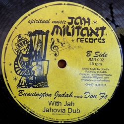 Bunnington Judah Meets Brizion , Bunnington Judah Meets Don Fe - Burning Fire , With Jah - 12""