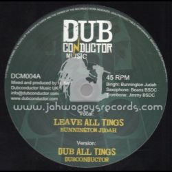 Bunnington Judah /  Sis I-Leen - Leave All Things / Can You Hear It - 12""