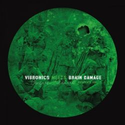 Vibronics /  Brain Damage  - Vibronics Meets Brain Damage - Empire Soldiers Dubplate Vol 2 - 10""