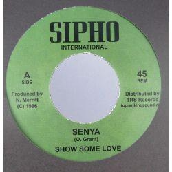 """Senya - Show Some Love - 7""""..."""