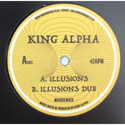 "King Alpha - Illusions - 7""..."