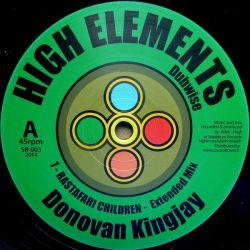 Donovan Kingjay - Rastafari Children - 10""
