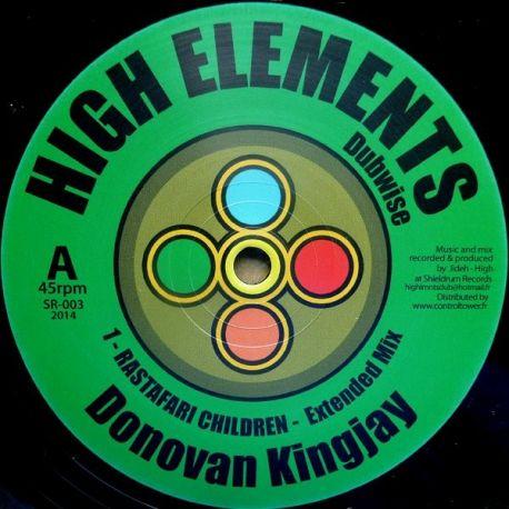 "Donovan Kingjay - Rastafari Children - 10"""