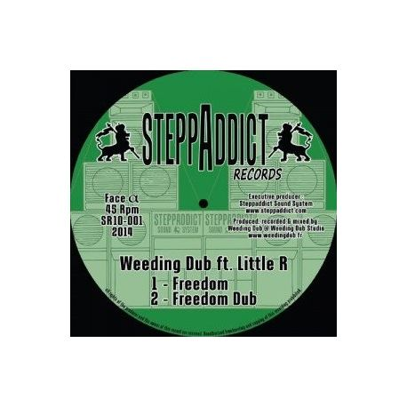 Weeding Dub /  Little R /  I Axe - Freedom - 10""