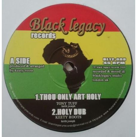 """Tony Tuff - Thou Only Are Holy - 12"""""""