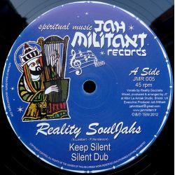 "Reality Souljahs /  Kibir La Amlak - Keep Silent / Mental Freedom - 12"""