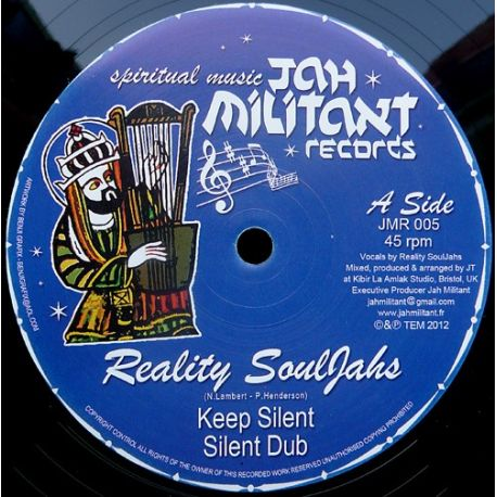 Reality Souljahs /  Kibir La Amlak - Keep Silent / Mental Freedom - 12""