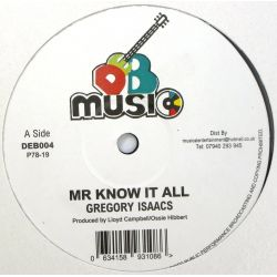 Gregory Isaacs - Mr Know It...
