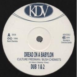 Culture Freeman /  Bush Chemists -  Dread In A Babylon / This Sound - 12""