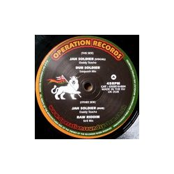 Daddy Teacha - Jah Soldier - 10""