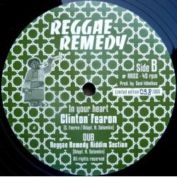Clinton Fearon - Sweet Reggae Music / In Your Heart - 12""