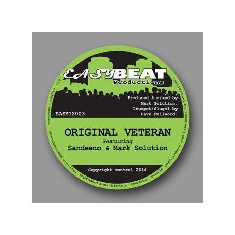 Sandeeno /  Mark Solution - Original Veteran  - 12""