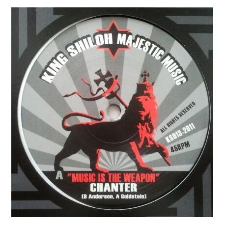 Chanter , Lyrical Benjie - Music Is The Weapon , Top Of The Mountain - 12""
