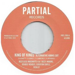 Restless Mashaits - King Of Kings / King Of Version - 7""