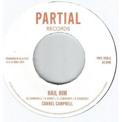 Cornell Campbell - Hail Him / King Dub - 7""