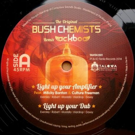 Bush Chemists, The /  Ackboo - The Original Bush Chemists Remix Ackboo - 12""