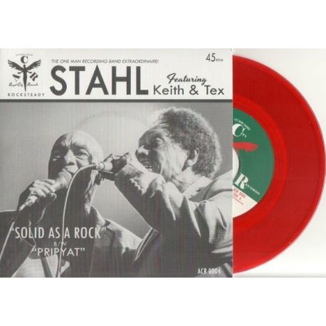 Stahl  /  Keith & Tex - Solid As A Rock - 7""