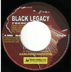 Carlton Livingston - Defend It - 7""
