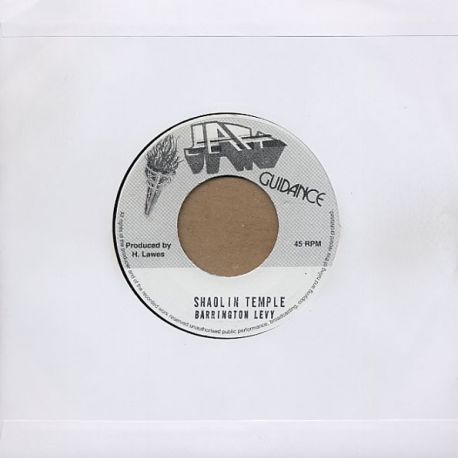 Barrington Levy - Shaolin Temple - 7""