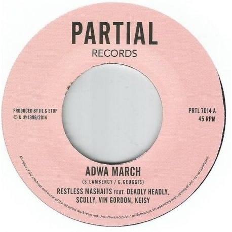 Restless Mashaits - Adwa March / Adwa Version - 7""