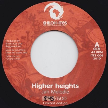 Jah Melodie - Higher Heights - 7""