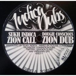 Sukh Indica /  I-David - Zion Call / Trodding With Jah - 12""