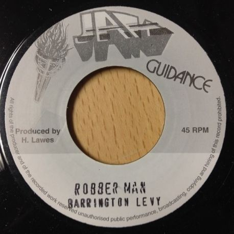 Barrington Levy - Robber Man - 7""