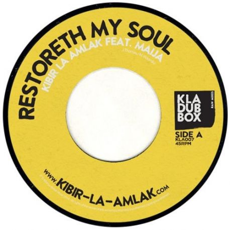 "Kibir La Amlak - Restoreth My Soul - 7"""