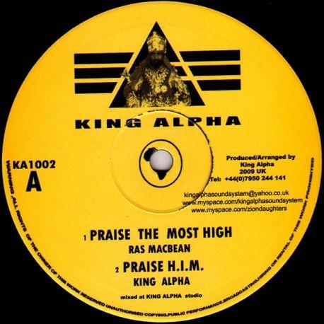 "Ras Mac Bean /  Empress Shema - Praise The Most High / Lion Of Judah - 10"""