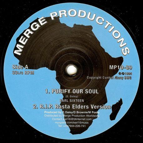 """Earl Sixteen - Purify Our Soul / Concrete Castle - 10"""""""