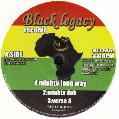 Keety Roots - Mighty Long Way - 12""