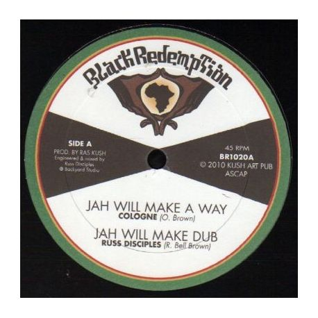 Cologne  /  Turbulence  - Jah Will Make A Way / Always Fari - 10""