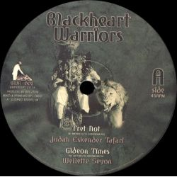Judah Eskender Tafari /  Wellette Seyon /  I-David - Fret Not - 10""