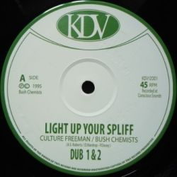 Culture Freeman - Light Up Your Spliff - 12""