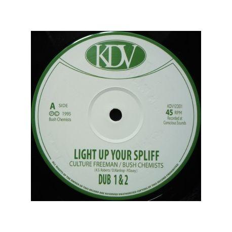 "Culture Freeman - Light Up Your Spliff - 12"""