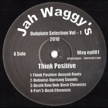 Anayah Roots , Uprising Sounds , Bush Chemists, Disciples,- Dubplate Selection Vol.1 - 12""