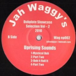 """Junior B , Uprising Sounds - Jah Waggy's DubPlate Showcase Selection Vol 2 - 12"""""""