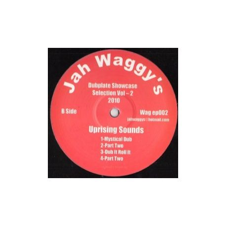 Junior B , Uprising Sounds - Jah Waggy's DubPlate Showcase Selection Vol 2 - 12""
