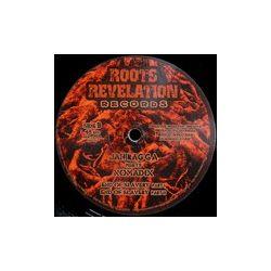 "Jah Ragga /  Nomadix  - African Jazz / End Of Slavery - 10"""
