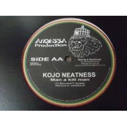 King Kong /  Kojo Neatness - Project Of Peace / Man A Kill Man  - 10""