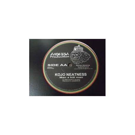 "King Kong /  Kojo Neatness - Project Of Peace / Man A Kill Man  - 10"""