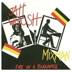 Jah Woosh Meets Mixman – Fire In A Blakamix - LP