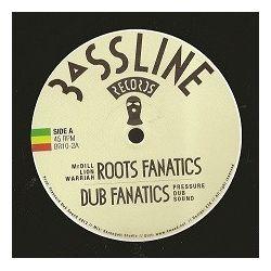"""Mr Dill Lion Warriah /  Pressure Dub Sound - Roots Fanatics / Sitting Bull - 10"""""""