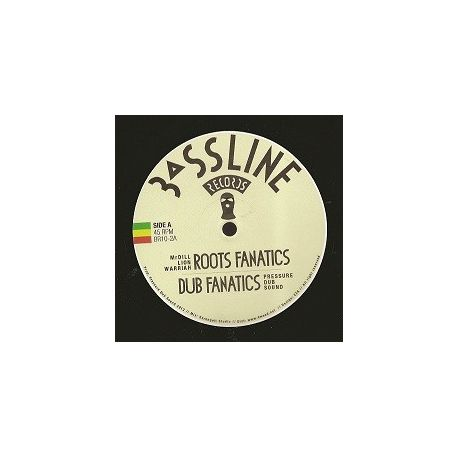 Mr Dill Lion Warriah /  Pressure Dub Sound - Roots Fanatics / Sitting Bull - 10""