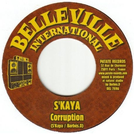 S'Kaya /  Barbes.D - Corruption - 7""