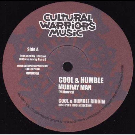 "Murray Man /  Ras Iyah - Cool & Humble / Time To Chant - 10"""