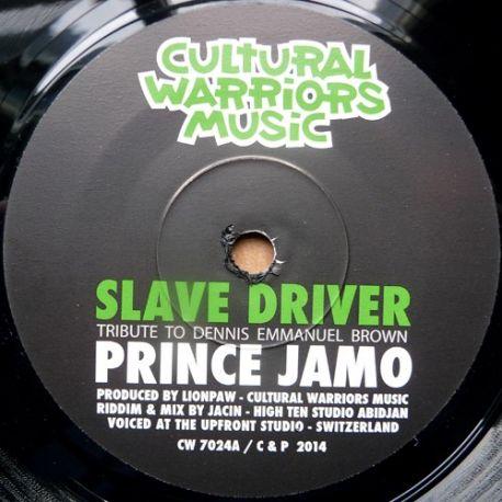 "Prince Jamo - Slave Driver - 7"""