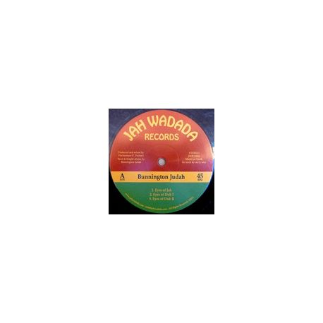Bunnington Judah - Eyes Of Jah / Fight Fight - 12""