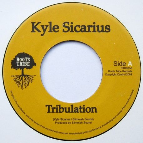 "Kyle Sicarius - Tribulation - 7"""